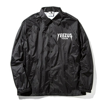 Yeezus Tour Coaches Jacket Kanye West Yeezy TLOP merch Yeezy tlop tour