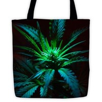 The Elite Cannabis Strain Festival Tote Bag By Twisted420Glass. from T420G Apparel & Accessories