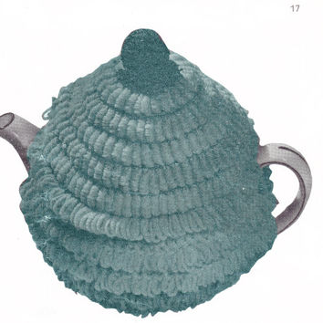 Vintage Crochet Pattern tea cozy kitchen teapot cover teapot warmer PDF Instant Download epsteam crochet pattern crochet home decor kitchen