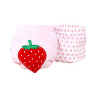 Lovely Red Strawberry Baby Elastic Cloth Diaper Cover -M, 9 - 11Kg