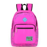 Vere Gloria Men Women School Backpack Bags, Large Capacity Casual Travel Back Packs for Teenage Girls Boys, 15 Inch Laptop Rucksacks for Middle High School College Students (red)