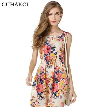 20 Colors Vestidos Summer Beach Women Boho Dress