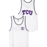 Texas Christian University Bling Boyfriend Pocket Tank - PINK - Victoria's Secret