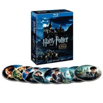 Buy.com - Harry Potter-Complete Collection Years 1-7 (Blu-Ray/8 Movie Set) Blu-Ray DVD : Warner