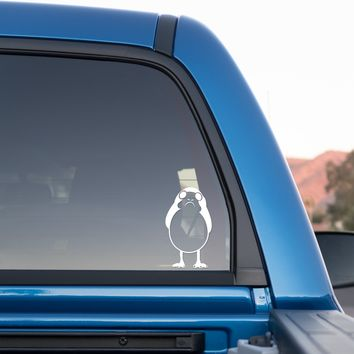 Porg from Star Wars Episode VIII: The Last Jedi Sticker for cars and trucks