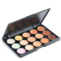5 Color Pro Concealer Face Primer Cream Contour Palette Make Up Facial Contouring Palette Makeup Corrector Base Palette