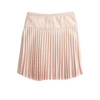 J.Crew Womens Laser-Cut Pleated Skirt