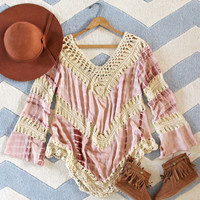 The Blake Tunic in Sand