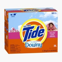 Tide Plus A Touch Of Downy April Fresh Scent Powder Laundry Detergent 53 Loads 98 Oz