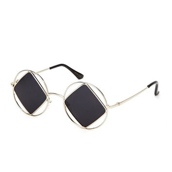 Diamond Cutout Sunglasses