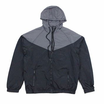 John Windbreaker (Black/Charcoal)