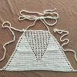 Limited Handmade Knitting Tank Top Vest Blouse Bikini for Womens Gift-68