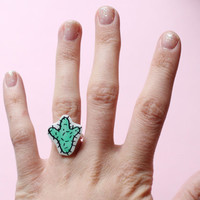 Little Cactus Ring