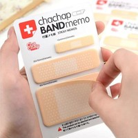 1PC Novelty Band Aid type sticky Memo pad Post it notes Stationery office supplies School supplies