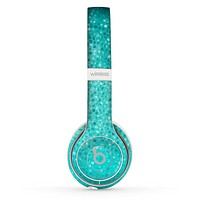 The Turquoise Mosaic Tiled Skin Set for the Beats by Dre Solo 2 Wireless Headphones