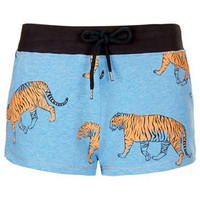 Tiger Print Runner Short - Running & Cycling Shorts - Shorts  - Clothing
