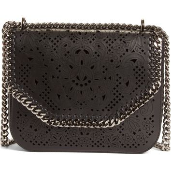 Stella McCartney Falabella Laser Cut Box Crossbody Bag | Nordstrom