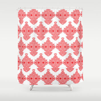 Monkey Business Shower Curtain by Rui Faria