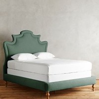 Linen Ainsworth Bed by Anthropologie