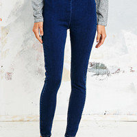 BDG Super High Rise Jeans in Indigo - Urban Outfitters