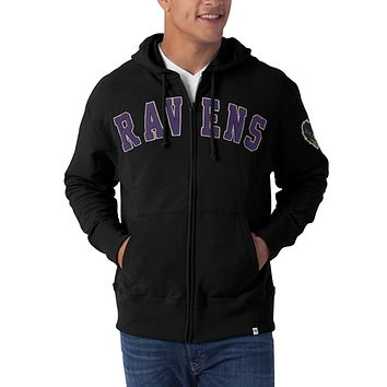 Baltimore Ravens - Striker Full Zip Premium Hoodie