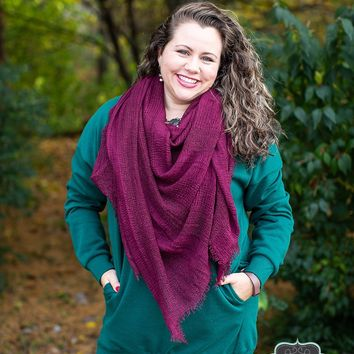 Hunter Green Sweatshirt Tunic