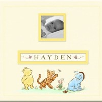 EK Success Brands Disney Frame a Name Scrapbook, Classic Pooh