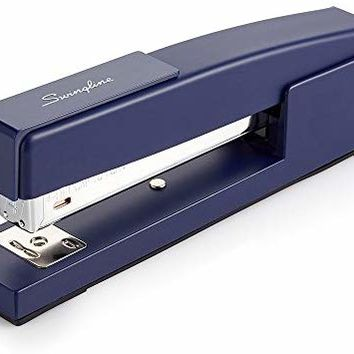 Swingline 747 Classic Desk Stapler, 20 Sheet Capacity, Royal Blue (S7074724)