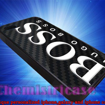 Hugo Boss Case for iPhone 4/4S/5/5S/5C Case, Samsung Galaxy S3/S4 Case, iPod Touch 4/5 Case
