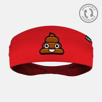 Poop Emoji Double Sided Headband