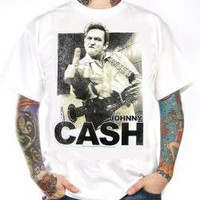Johnny Cash, T-Shirt, Finger