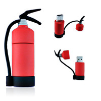 Firefighters - Fire Extinguisher USB Flash Drive (4GB, 8GB, 16GB, or 32GB)