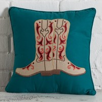 Cowgirl Sunrise Boot Pillow - Bedding Coordinates - Bedding