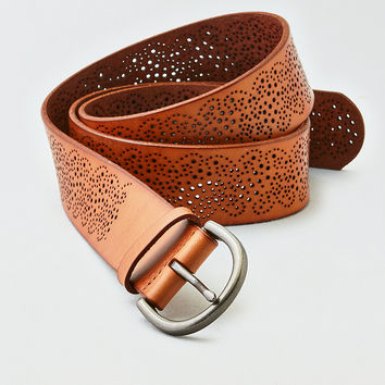 AEO Paisley Belt , Tan