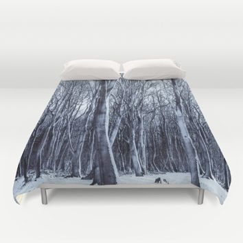 We Are The Trees Duvet Cover by Gallery One