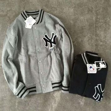 DCCKN6V Winter MLB baseball clothing coat jacket couple NY embroidery baseball men and women coat G-YF-MLBKS