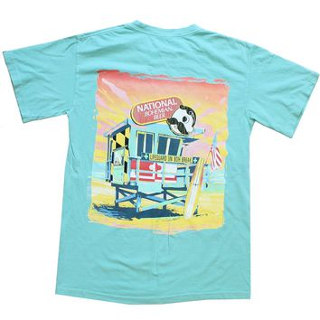 Natty Boh Lifeguard Stand (Chalky Mint) / Shirt