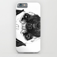 A pug iPhone & iPod Case by Jeanne