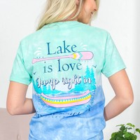 Lake is Love Tee |Simply Southern