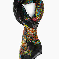Luxe Bejeweled Scarf
