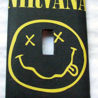 Light Switch Cover - Light Switch Plate  Nirvana