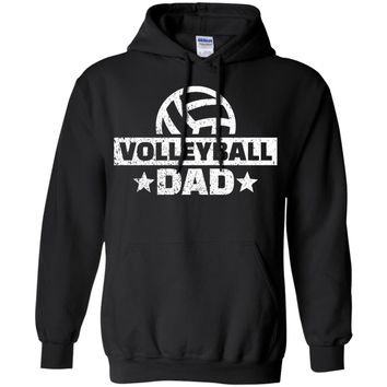 Volleyball Dad  Pullover Hoodie 8 oz