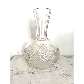 Early 20th Century Elegant Glass Vase