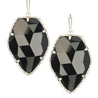 Corley Drop Earrings in Black - Kendra Scott Jewelry