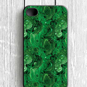 Malachite Stone iPhone 4 Case