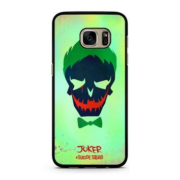 Joker Poster Suicide Squad Samsung Galaxy S7 Case