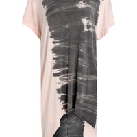 Claire Tie Dye Side Oversize Tunic