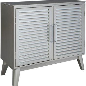 Senzernell Accent Cabinets - Silver or Gold/Silver