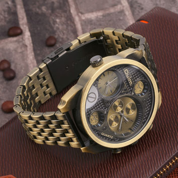 Classy Military Men's Watch