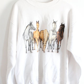 Row o' Horses Sweatshirt